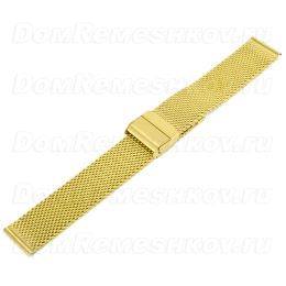 Браслет Inox Plus M-413-Gold/18